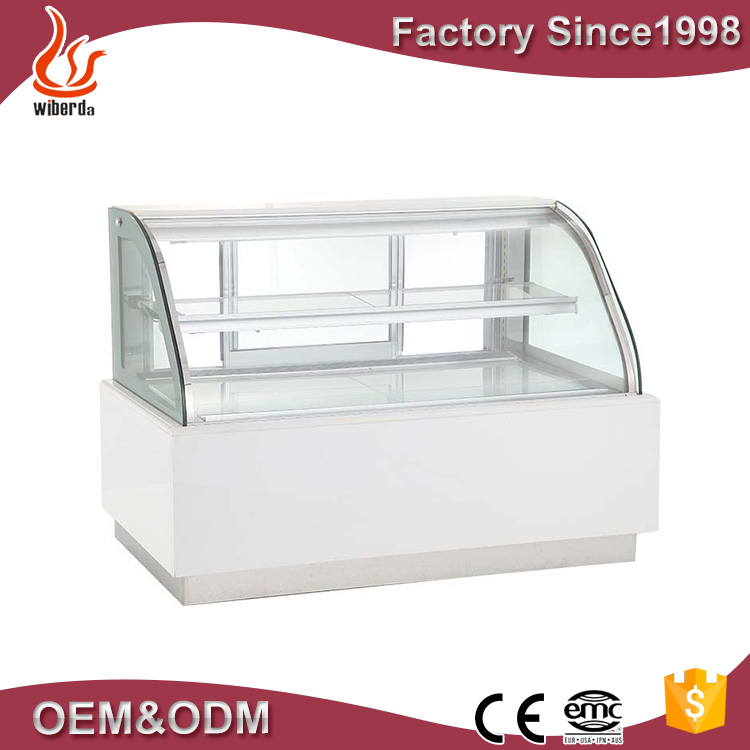 Wiberda desk top display sushi refrigerator showcase with CE approve