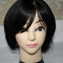 Shandong qingdao factory supply sell china wigs toupee,men hair toupee