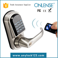 Remote Control Door Lock with Zinc Alloy Lock Body