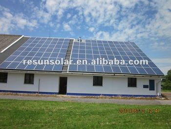 high module efficency and warm price 1KW off grid Solar Power System Home