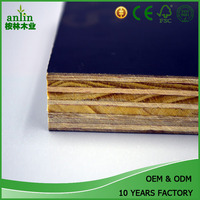 18mm black film faced plywood eucalyptus core