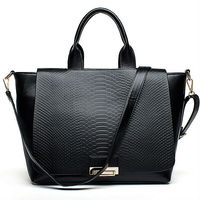 E775 Europe design guangzhou wholesale snake skin tote fashion bag