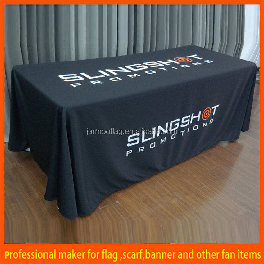 hotel party table cloth with customized logo