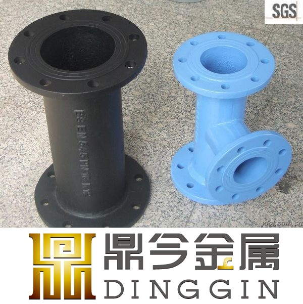 ISO 2531 ductile iron pipe fitting for drinking water