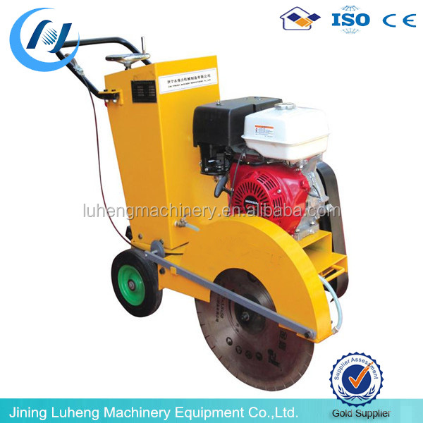 diesel/gasoline/electric optional power concrete cutter/concrete cutting machine