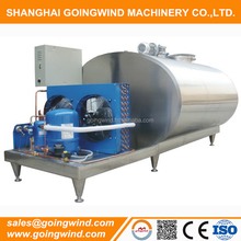 100l to 5000l direct cooling milk storage tank milk receiving cooler tanks cheap price for sale