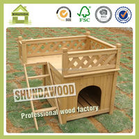 SDD01 wooden handmade dog kennel