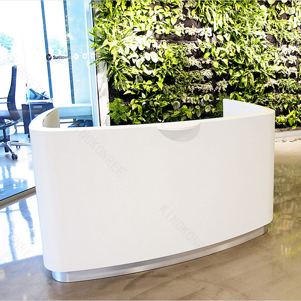 modern reception desk office counter table design