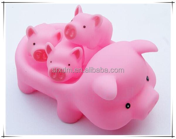 custome jouets pour le bain flottant cochon en plastique autres jouets loisirs id de produit. Black Bedroom Furniture Sets. Home Design Ideas