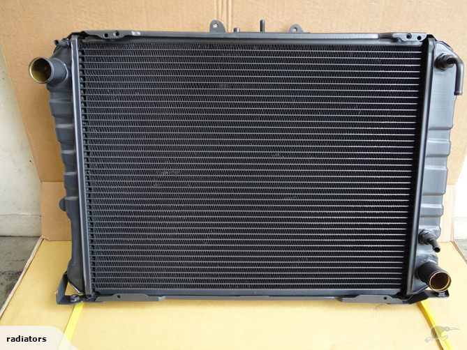 full aluminum radiator for Toyota Hiace 07+ AT radiator