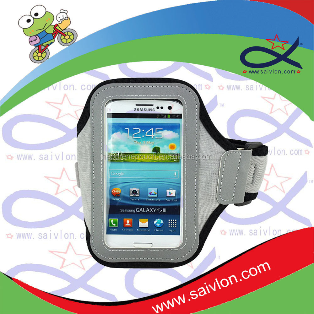 Neoprene running accessories sports mobile phone armband