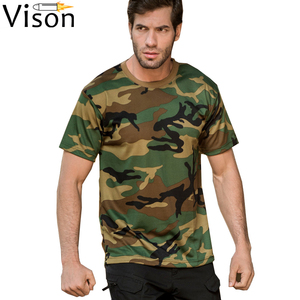 2019 hot sale woodland camo tshirt badminton tshirt