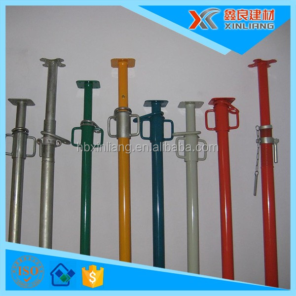 factory price Casting galvanized adjustable steel shoring prop for construction