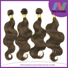 Newness factory direct sale double weft shedding tangle free 6a grade 100% human bundles peruvian virgin hair