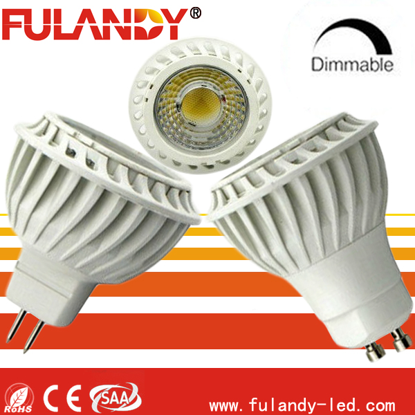 GU10 MR16 LED spot light 3w 4w 5w 7w 9w COB / led spot lighting manufacturer