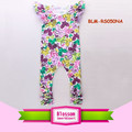 Carters wholesale image baby floral summer jumpsuits custom style bodysuit baby snap knit tulle & cotton flying flutter jumper