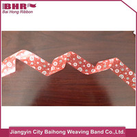 Factory high qulity stain gift ribbon for helmet compatible hood