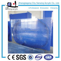 Floating glass square acrylic aquarium for wholesales