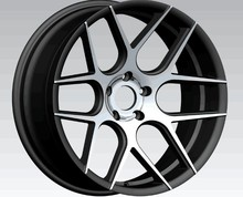 Factory price aftermarket car alloy wheels, 20 inch sport wheel rims with pcd 112-120 rims ZW-BS003