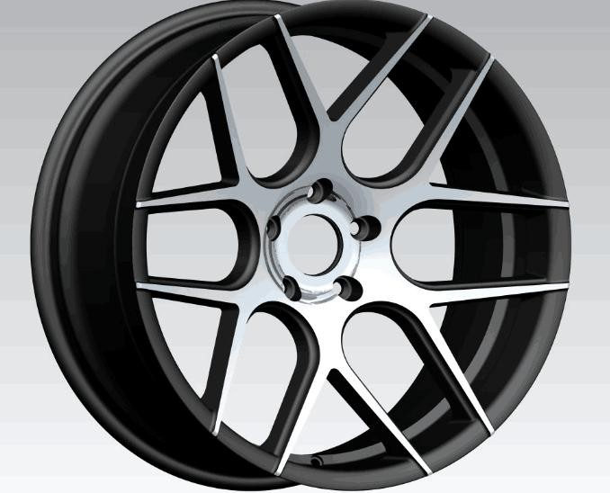 ZW-BS003 New design aftermarket car alloy wheels, 20 inch wheel rims with pcd 112, 5x120 rims