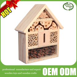 2016 wooden Insect House ,hot sale nautral insect Hotel, Top new insect Shelter Box For Garden