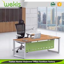 Customized Ergonomic Modern Manufactured Manager Office Tables With Table Frame