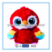 Big eye bird plush toy