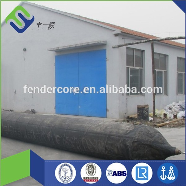 ISO 14409 standard inflatable floating ship launching airbag boat lifting airbag