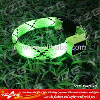 Good character LED Flashing dog Collar for walking the dog