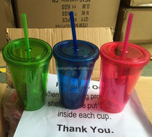 Top level excellent quality colored plastic diy tumblers