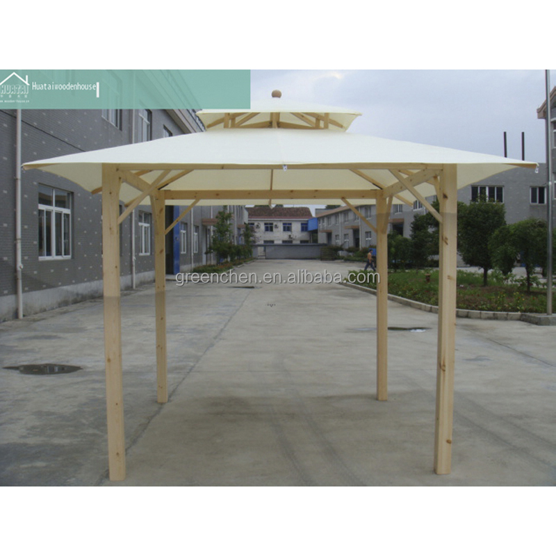 China prefabricated wooden kiosk design