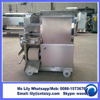 500kg/h fish meat grinder fish meat bone separator stainless steel fish grinding machine