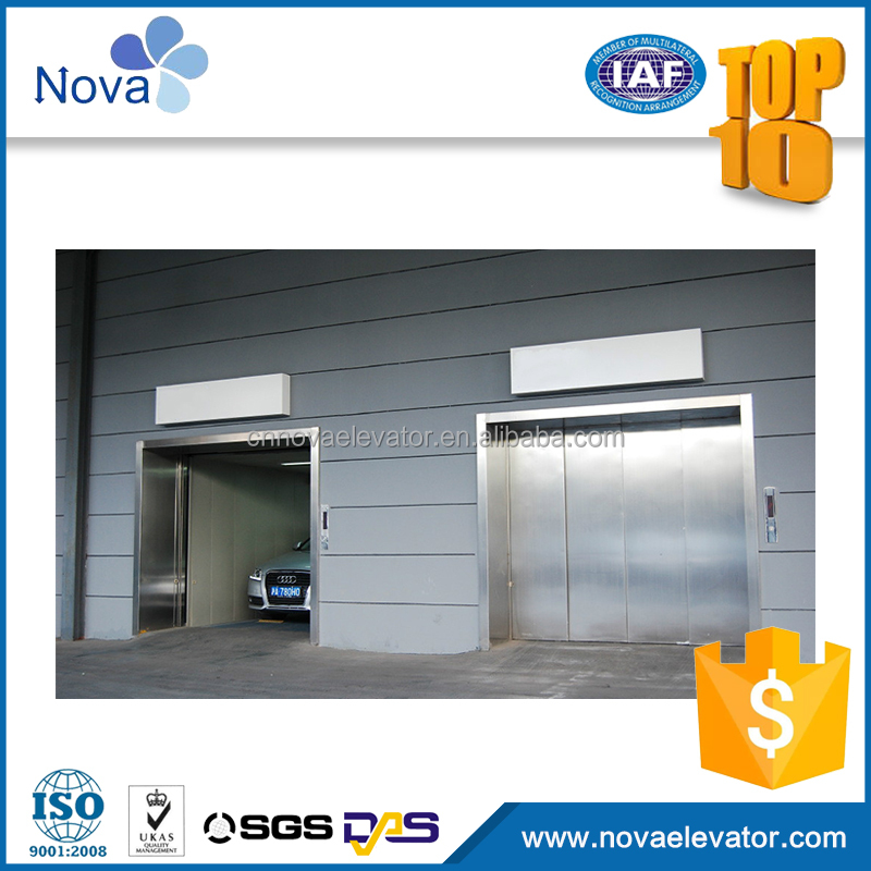 outdoor cheap small shaft car elevator parking systems
