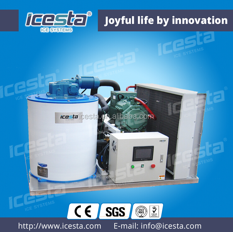 ICESTA Flake ice machine slurry ice flaker shell ice