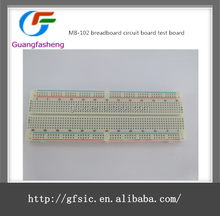 MB-102 Breadboard Protoboard 830 points 2 buses Test Circuit Test Board