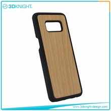 Natural Cherry wood mobile covers for samsung s8, for galaxy s8 hard case,for galaxy s8 phone case