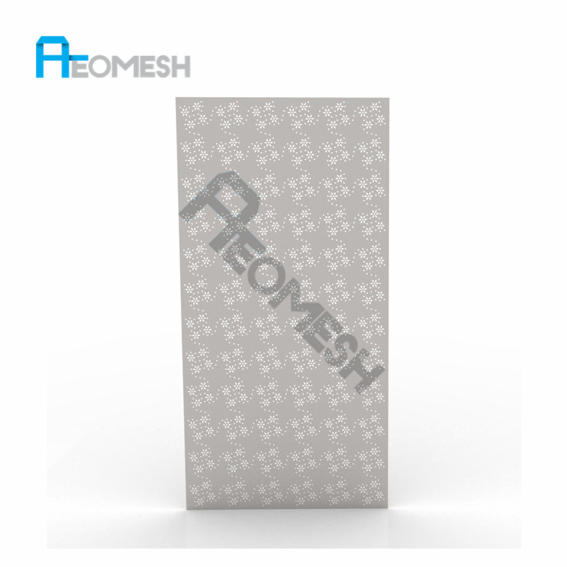 Galvanized perforated metal sheets/exterior decorative metal wall panel/ISO9001,2008