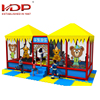 Multifunctional indoor playground equipment canada, Multiplayer indoor treehouse playground