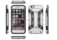 Armor style 2 in 1 strong cell phone case for iphone 6/6s, phone case with stand holder
