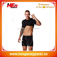 HongEn Apparel compression men T shirt/ sports wear/ Running Fitness wear