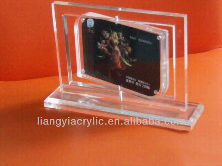 promotion for acrylic picture frame picture stands