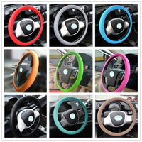 Good Qulaity Steering Wheel Cover Auto Comfortable Luminous Silicone Steering Wheel Covers