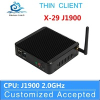 HLY MINI PC WITH FANLESS INTEL J1900 QUAD-CORE WITH 4G RAM 8G SSD OEM COMPUTER SUPPOORT AUDIO VIDEO SLIM DESKTOP COMPUTER