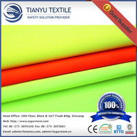 TC Fabric Reflective in the Dark Fluorescent Yellow Dyeing Textile