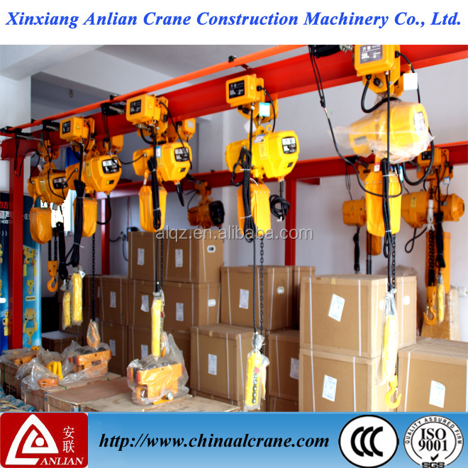 High Quality Electric Wireless Remote Chain Hoist