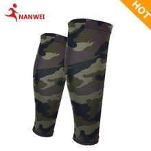 New Summer Football Leg Protector Breathable Camouflage Dye Sublimation Calf Pressure Sleeve Sock Legging