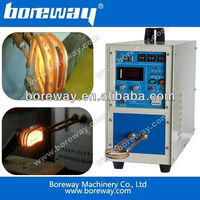 High frequency induction heating and welding machine for saw blade and drill bit