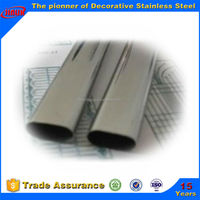 ASTM A312 tp316 stainless steel elliptical tube