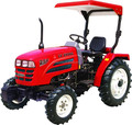 China Luzhong 244 24hp 4X4 wheeled mini agricultural tractor for hot sale