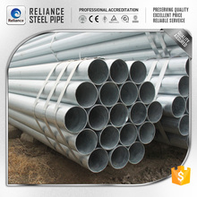 GALVANIZED PIPE PROPERTIES AND GALVANIZED PIPE FOR SCAFFOLDING